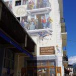 シャモニ街の壁画